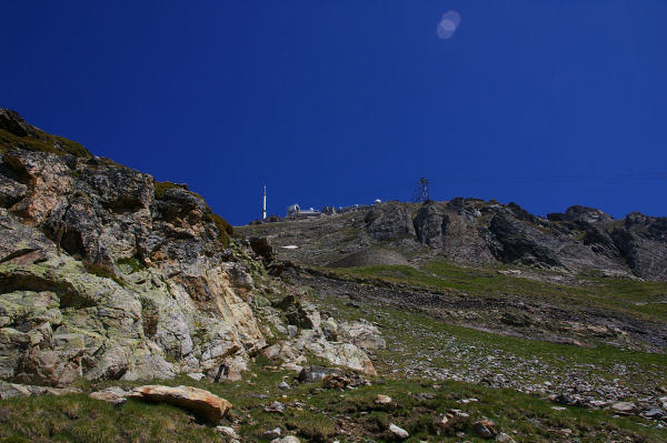 En bas de la face Sud du Pic du Midi de Bigorre