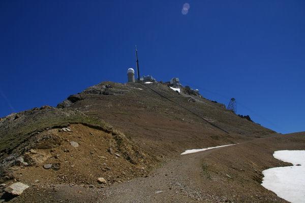 La partie la plus rude de la montée au Pic du Midi de Bigorre