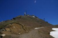 La partie la plus rude de la montee au Pic du Midi de Bigorre