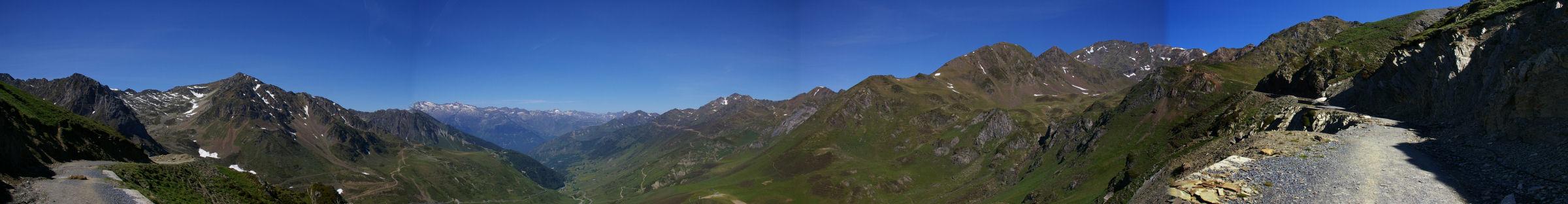 Panorama sur la vallée de Barèges