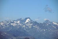 Le Balaitous et le Palas depuis le Pic du Midi de Bigorre