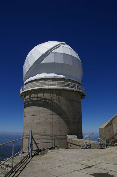 Coupole du télescope Bernard Lyot au Pic du Midi de Bigorre