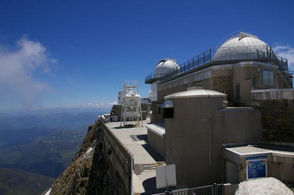 Les batiments du Pic du Midi de Bigorre