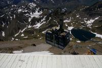 Une cabine du teleferrique du Pic du Midi de Bigorre