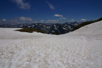 Grand neve pres du col des Laquets