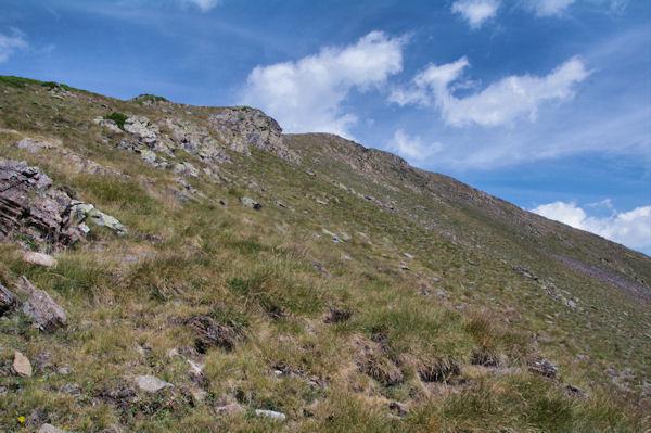 Montée du Pichaley