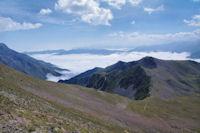 La crete Sud-Est du Pichaley vers le Pic de Montarrouyes