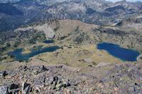 Les Lacs du Milieu et Superieur de Bastan