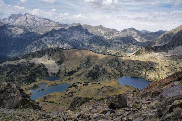 Les Lacs du Milieu et Supérieur de Bastan
