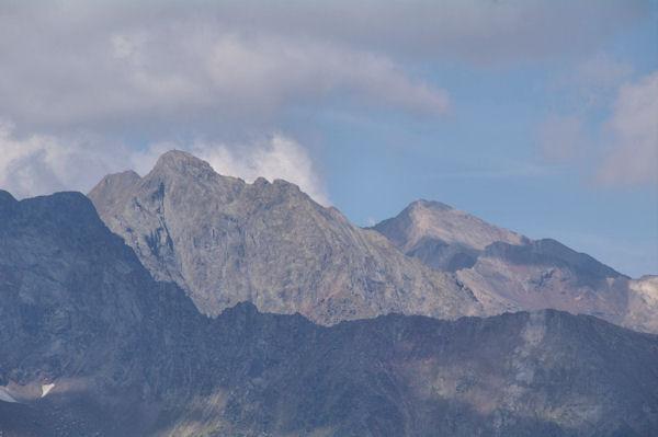 Pic Méchant, Pic de Campbieil et Pic d_Estaragne