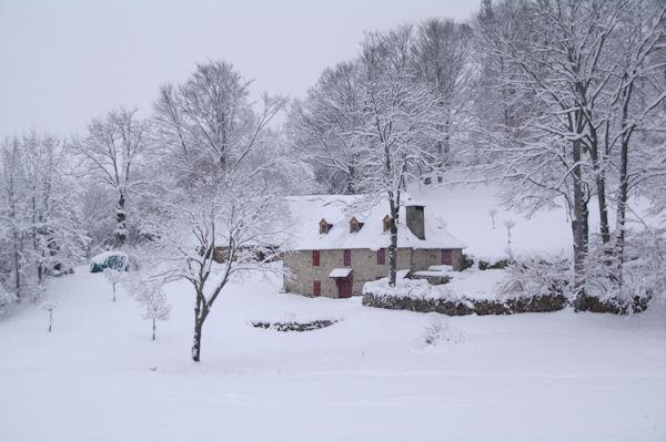Lesterle sous la neige