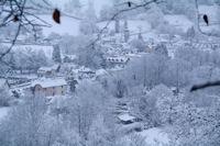 Arrens sous la neige