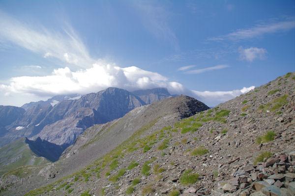 Mont Perdu et Cylindre du Marboré dans la purée