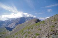 Mont Perdu et Cylindre du Marbore dans la puree