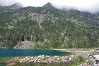 L_extrémité Sud du Lac de Gaube