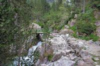 Passage rive droite du Gave des Oulettes de Gaue