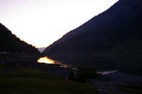 Le lac du Tech au petit matin