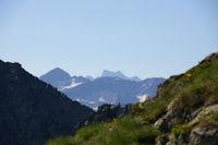 Au fond, le massif du Vignemale
