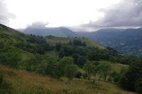 Le vallon des Balagnas surmonte par le Pic de Predouset et le Turon des Aulhes