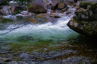 Les eaux vertes du Gave du Marcadau