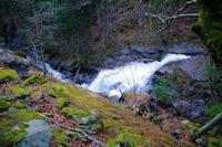 La Cascade sous la source Thermale de Mauhourat