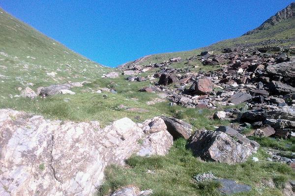 La montée vers le Col d_Uzious