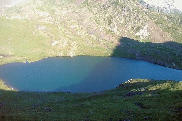 Le Lac du Lavedan depuis le Col d_Uzious
