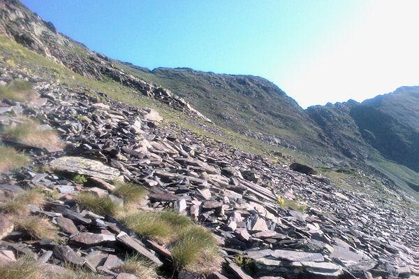 La montée vers le Sanctus au dessus du Col d_Uzious