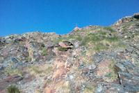 En atteignant la crete menant au Sanctus
