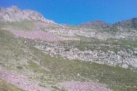 La crete entre le Sanctus et le Pic de Louesque