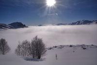 Mer de nuage sur le Val d'Azun