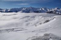 Le Pic du Midi d'Arrens et le Moun Ne au centre