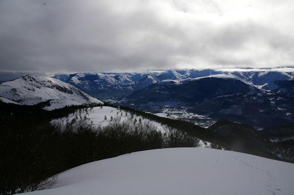 Le Val d_Azun depuis le Soum de Berducou