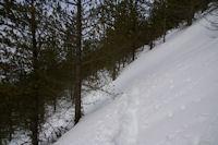 Sous le Soum de Berducou en direction du Col de Berbeillet
