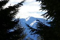 En montant au Col de la Serre, le Pic du Cabaliros
