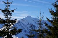 En montant au Col de la Serre, le Pic du Midi d'Arrens