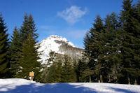 Le Pic de Bazes depuis le Col de la Serre