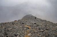 La crête vers le Col des Espécières