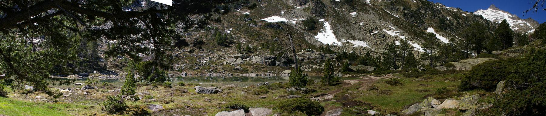 Panoramique de la seconde Laquette, à droite, le Ramougn