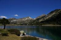 Le lac d&#39Aumar vers le Nord-Ouest