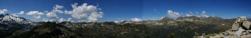 Panoramique au Nord du Soum de Monpelat
