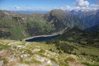 Le lac de l&#39Oule depuis le Soum de Monpelat