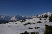 Le Pic du Midi d'Arrens, le Balaitous et les Gabizos depuis le Soc