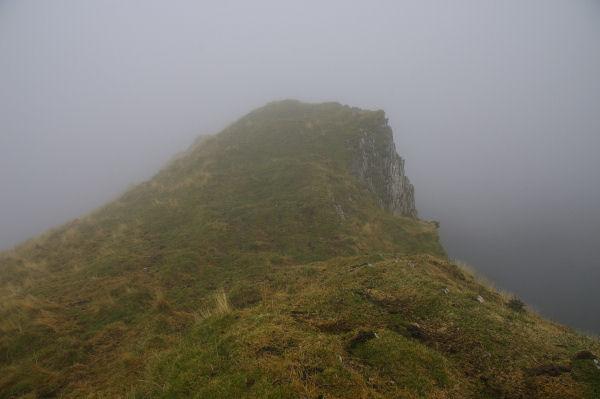 La Pointe de Surgatte, dans les nuages ce jour là!