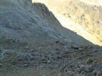 La cascade sous le Glacier du Taillon
