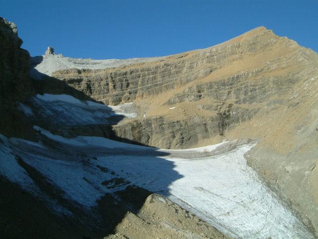 Le Taillon et son Glacier