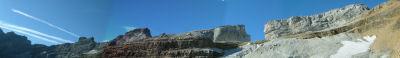 Panoramique vers la Breche de Roland