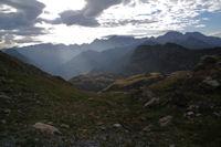 Les sommets de Gavarnie depuis au dessus des Lacs de Montferrat
