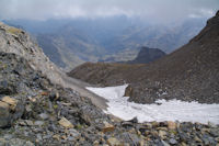 Le neve sous le Petit Pic de tapou