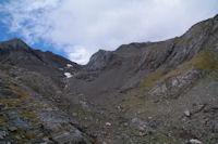 Le vallon sous le Petit Pic de Tapou